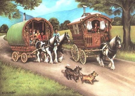 Image result for d&D travel by cart