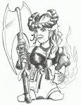 Female Fighter Dwarf