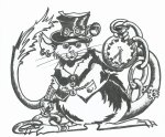 Steampunk Mouse Tophat
