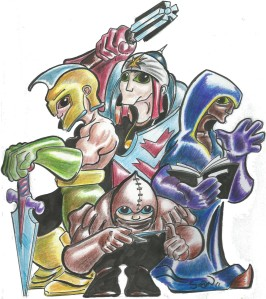 The Master crew