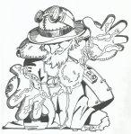 Steampunk Wizard