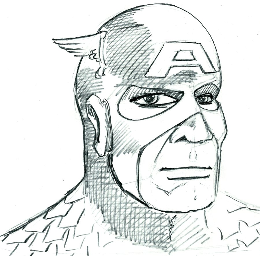 SuperSketch10-CaptainAmerica